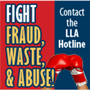 report fraud to the Louisiana Legislative Auditor (LLA)